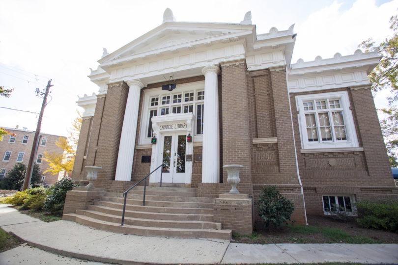 Carnegie Library building shot-h