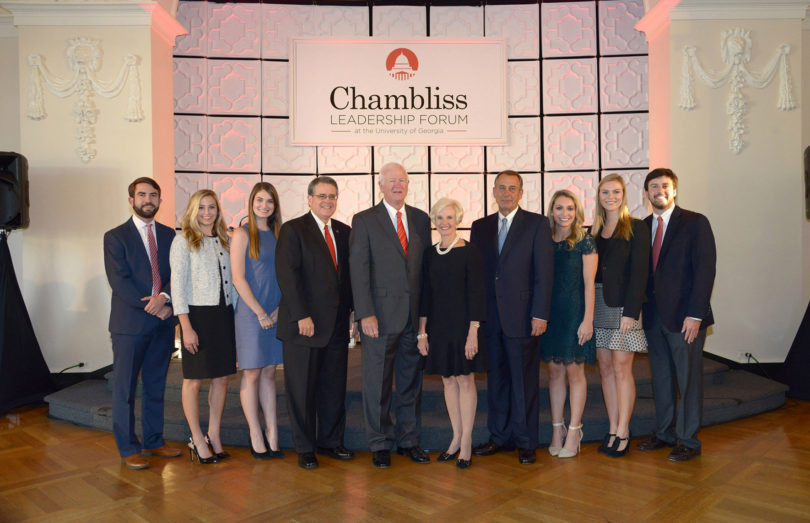 Chambliss Leadership Forum 2016