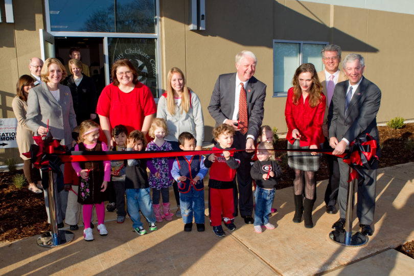 Childcare center-ribbon cutting