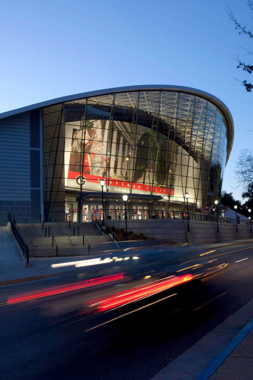 Stegeman Coliseum night-v.env