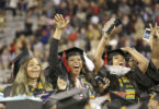 Students celebrate at Commencement