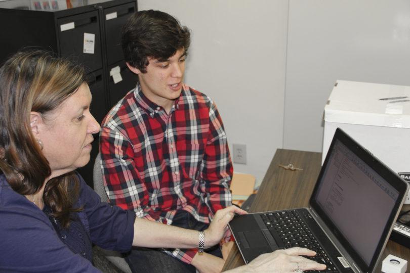 CURO assistantships Blake Mathews