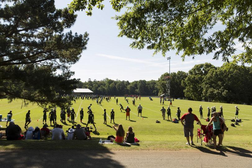 Football Camp Kirby Smart IM Fields-h