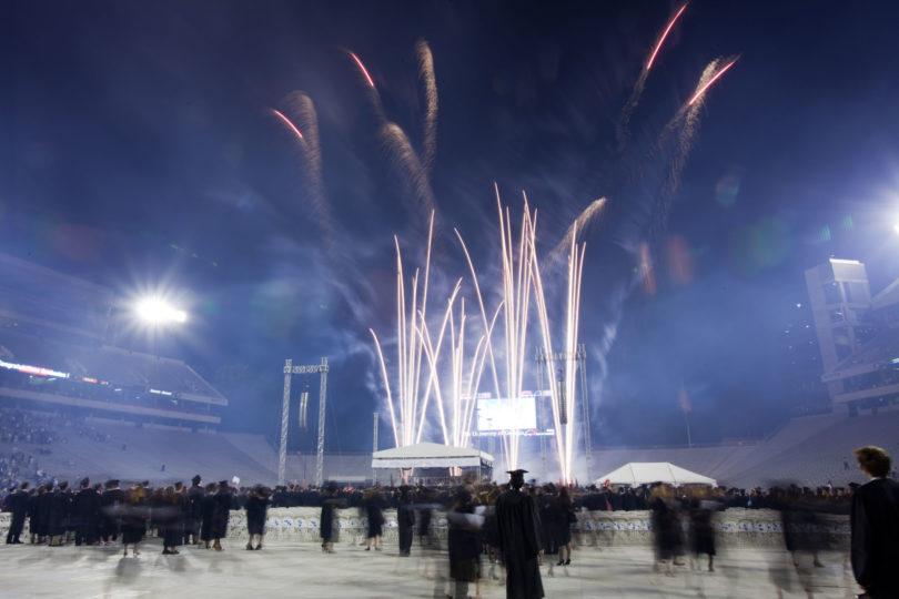 Fireworks at Graduation-H.action