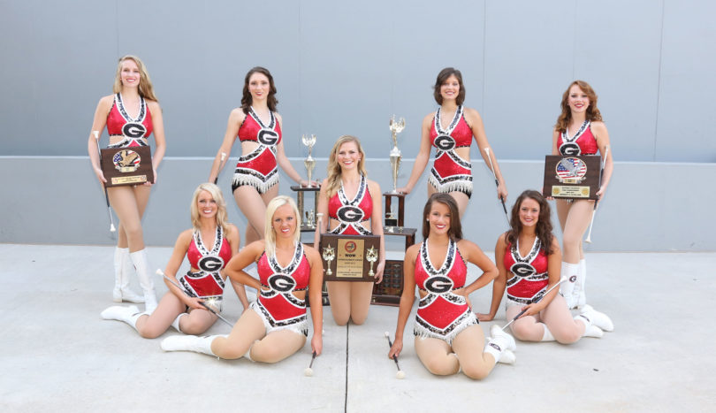 Majorettes two national championships 2012-h.env