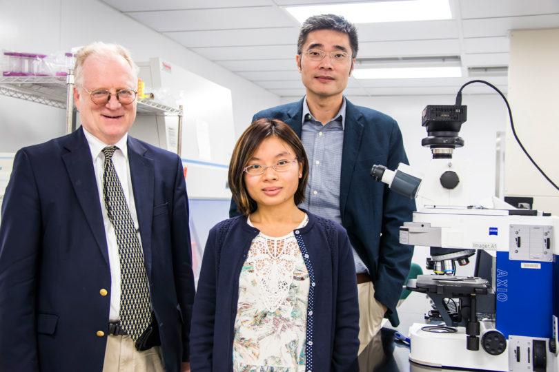 Microfluidic research team