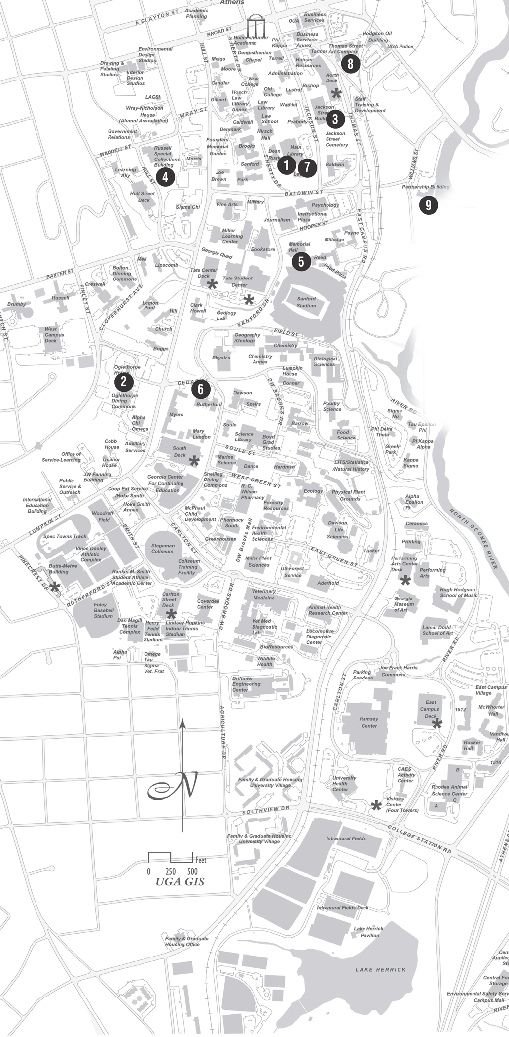 Uga Health Sciences Campus Map.Change Of Space Uga Today