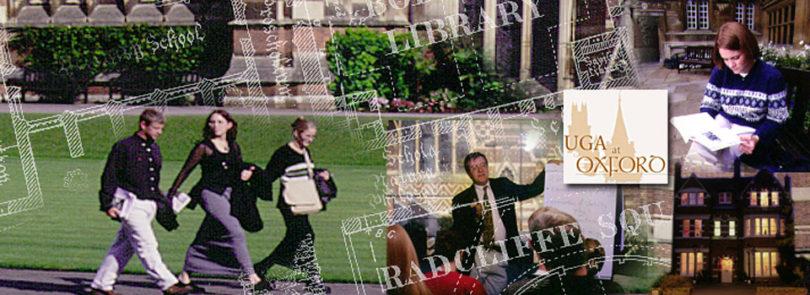 Across the pond: UGA at Oxford