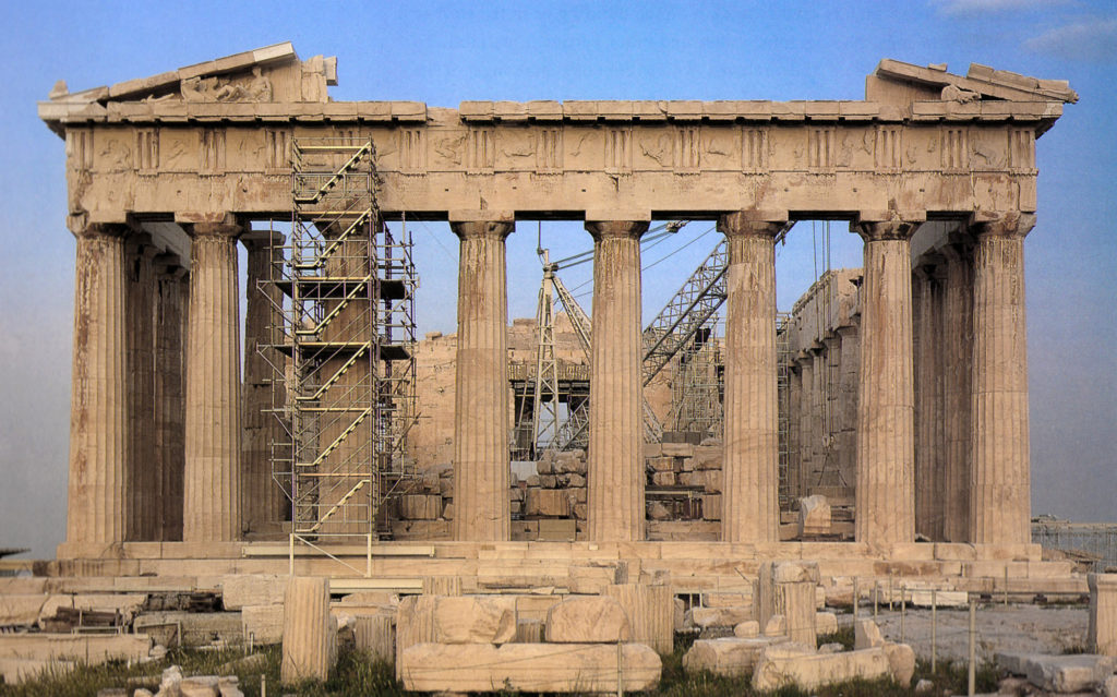 Uga To Hold International Symposium On Parthenon S