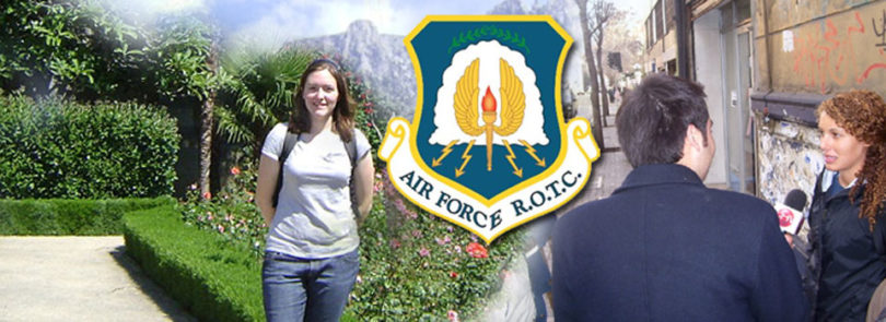 Air Force ROTC offers travel opportunities