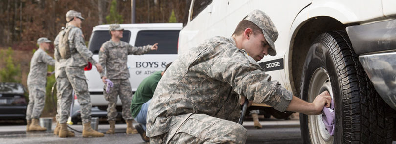 Cadets turn holiday tradition into service project