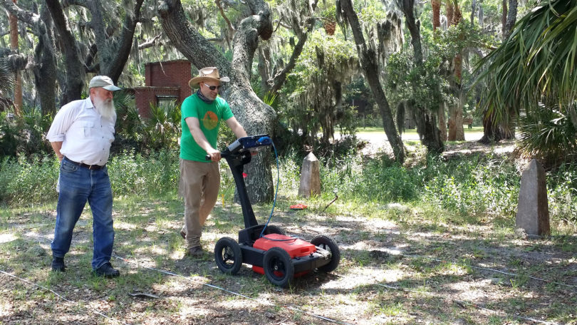 Santa Elena ground penetrating radar-h
