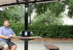 UGA charges ahead with solar-powered picnic table