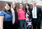 Social Work and public health dual degree graduates group-h