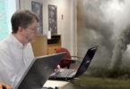 Facebook creates tornado debris data trail