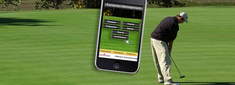 New iPhone app diagnoses turfgrass problems
