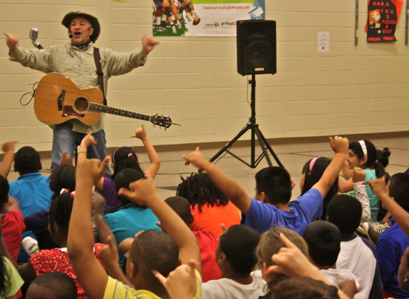 Roger Day at Winterville elementary school