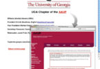 UGA AAUP chapter goes online