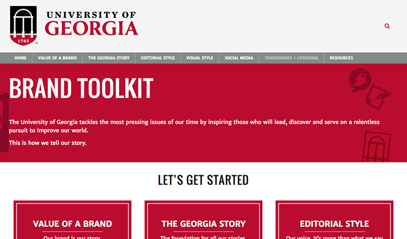 Site helps maintain consistent brand
