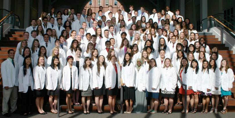Pharmacy white coat ceremony 2013-h.group