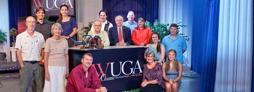 WUGA-FM signed on 25 years ago