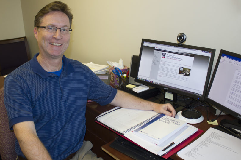 Photo of Tony Mallon, the director of the UGA Institute for Nonprofit Organizations