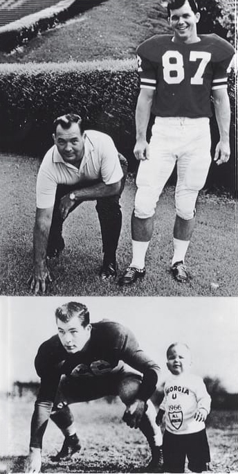 Billy Payne with his father, Porter.