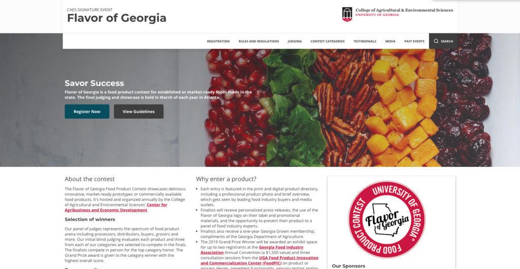 Flavor of Georgia contest now underway - UGA Today