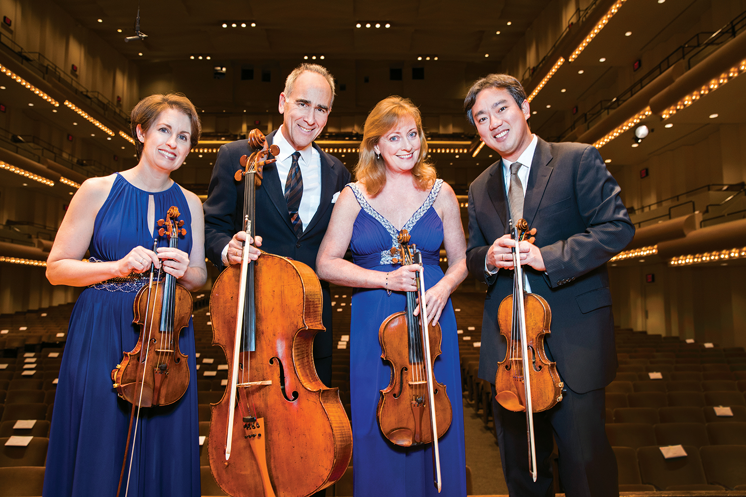 NY Philharmonic String Quartet to make Athens debut - UGA Today