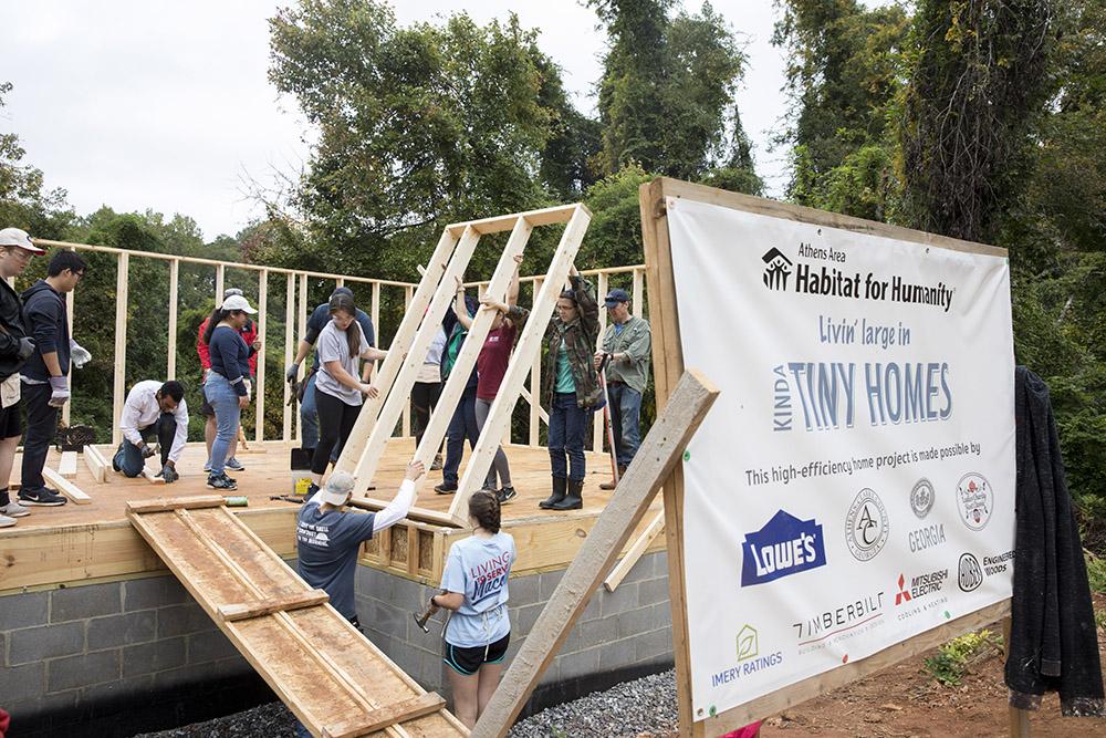 Uga Student Designs Winning Kinda Tiny Home