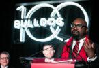 George Azih speaking at 2020 Bulldog 100