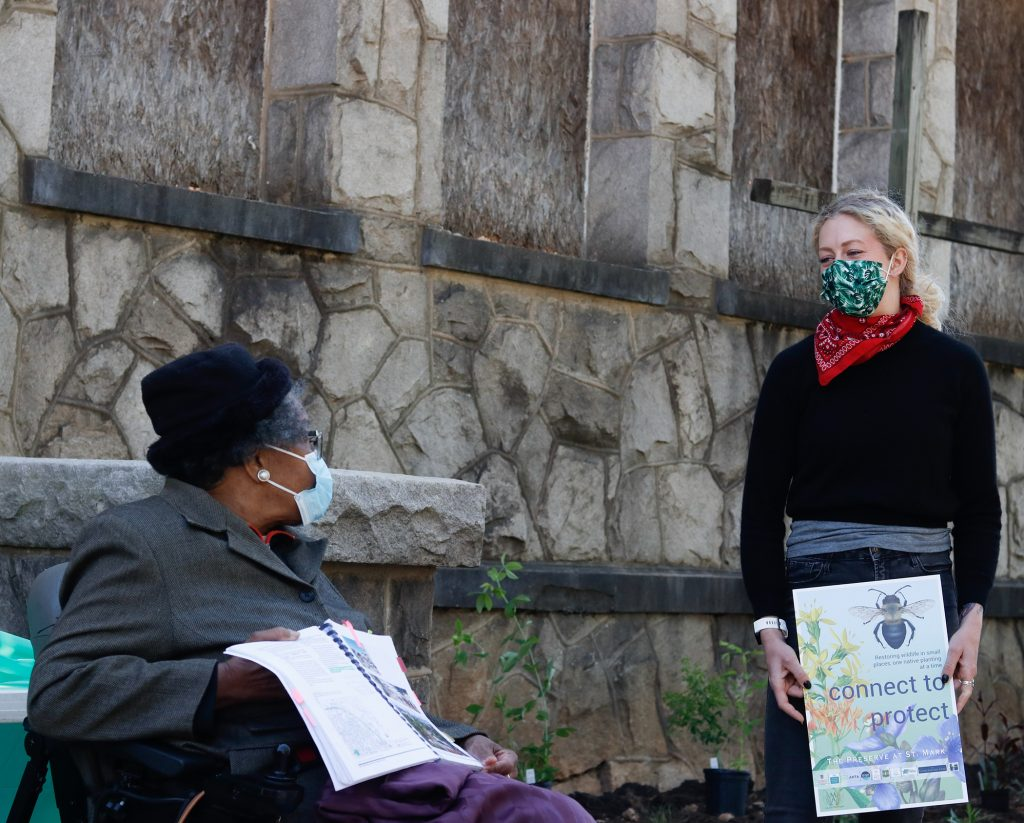 Preserving pollinators, preserving a neighborhood