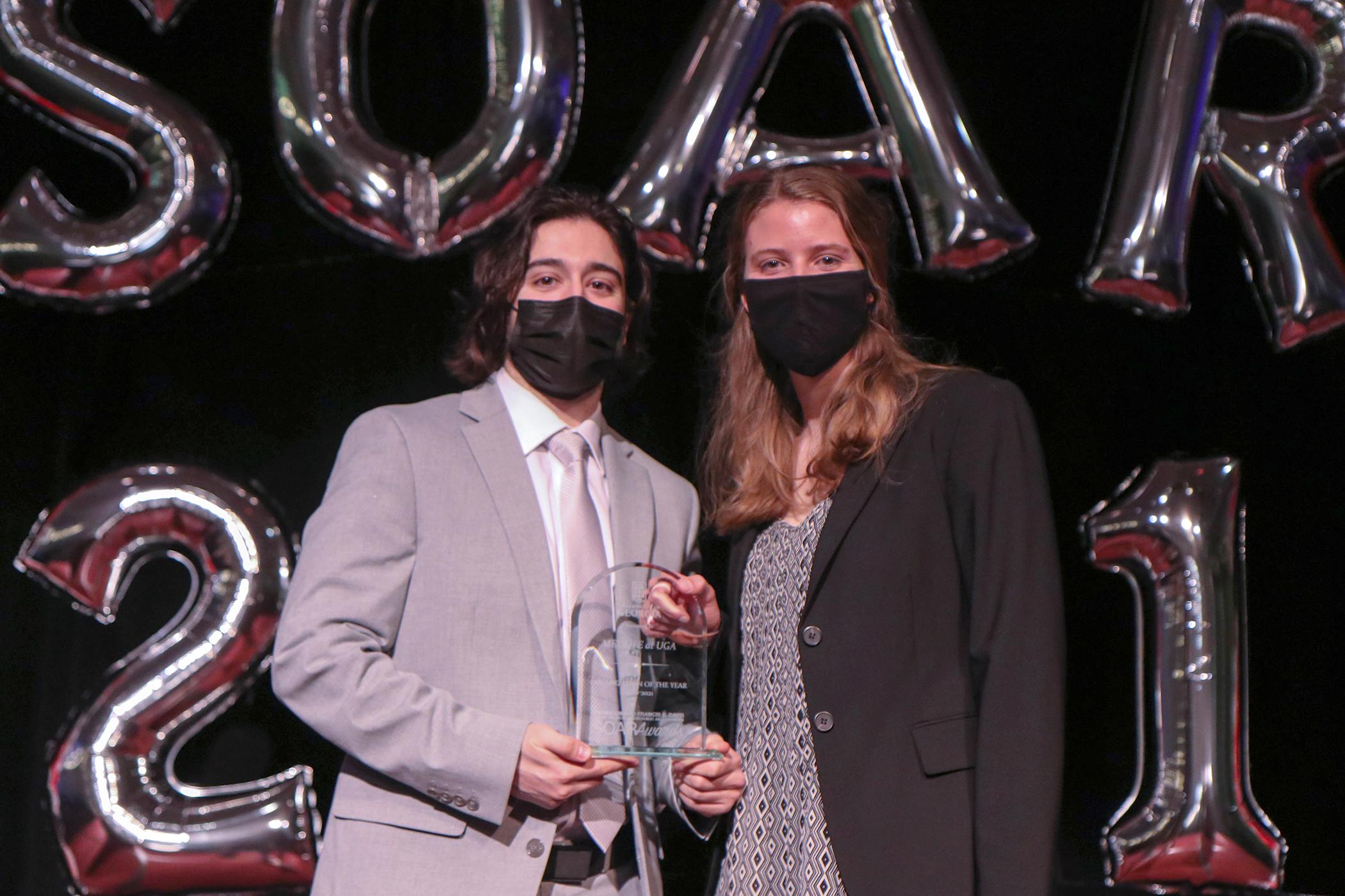 news.uga.edu: MEDLIFE at UGA receives top student organization award