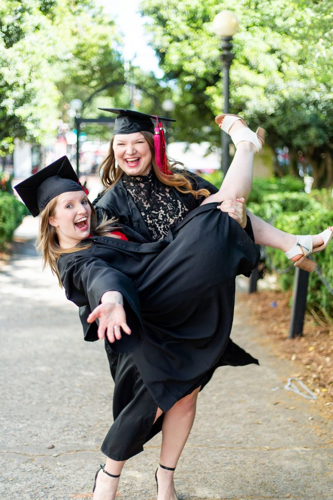 Amelia and Megan Holley
