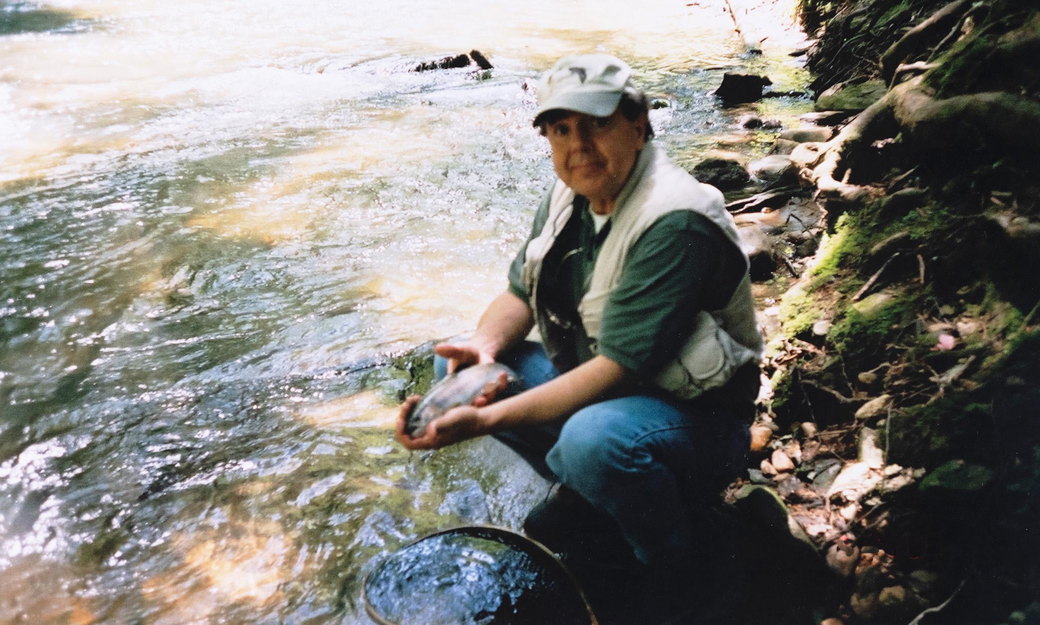 Thomas Stanley fishing