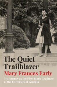Cover of book showing Mary Frances Early as a student walking on campus.